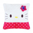 Bantal Kotak Polkadot Hello Kitty Fanta