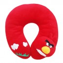 Bantal Leher 3D Angry Bird Wood