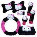 Car Set 6 in 1 Hello Kitty Black